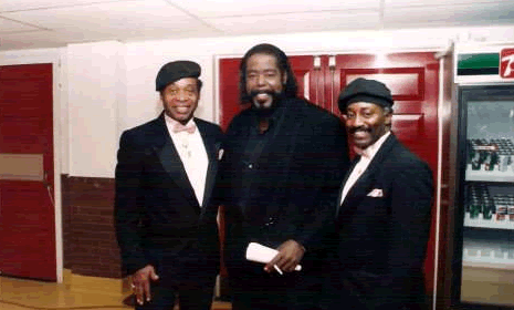 Robert Less Smith With Barry White